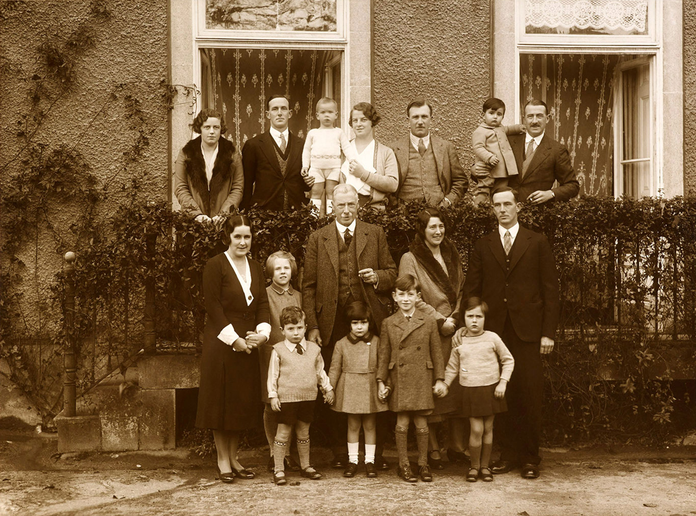 Three generations of Symingtons, 1932